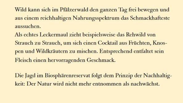 Partner des Biosphärenreservates Pfälzerwald