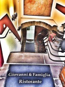 """Italienisches Restaurant """"Giovanni & Famiglia"""" in Deidesheim - Eingang Gewölbekeller"""