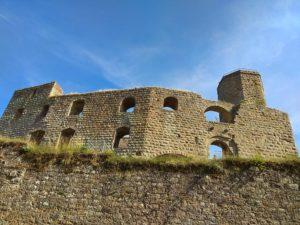 Burg Gräfenstein bei Merzalben in der Pfalz