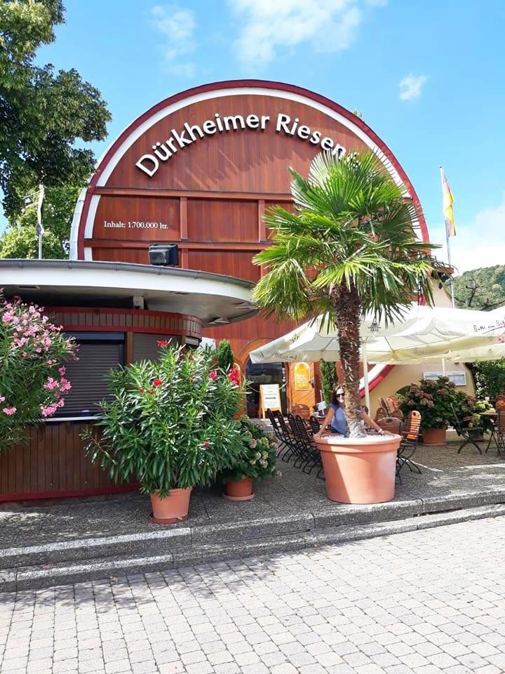 Das Dürkheimer Riesenfass in Bad Dürkheim an der Weinstraße