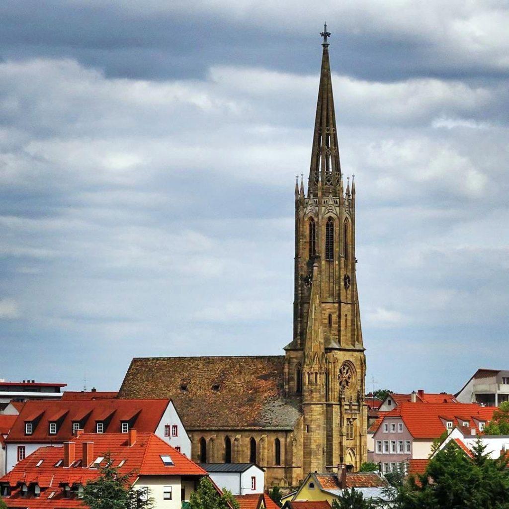 Die evangelische Schloßkirche in Bad Dürkheim