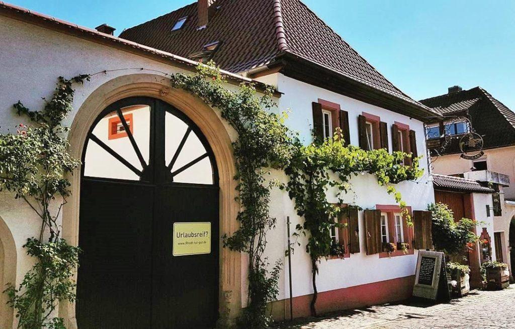 Fleischmann-Krieger's VINORANT - Restaurant, Weinstube & Weingut in Rhodt unter Rietburg in der Pfalz