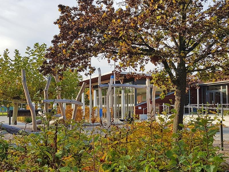 """Kinderspielplatz """"Am Fischmal"""" bei """"Müllers Restaurant"""" in Leimersheim in der Pfalz"""