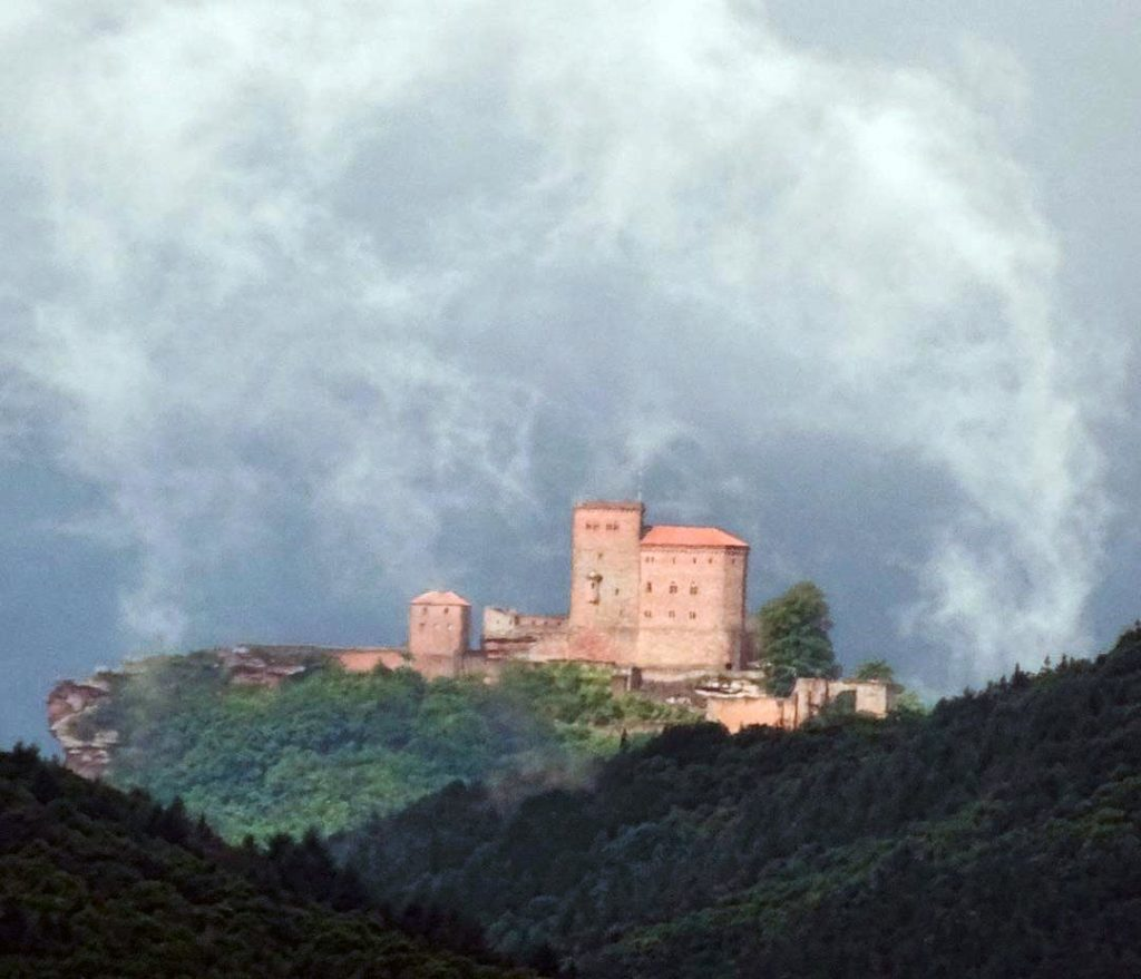 Reichsburg Trifels in Annweiler in der Pfalz