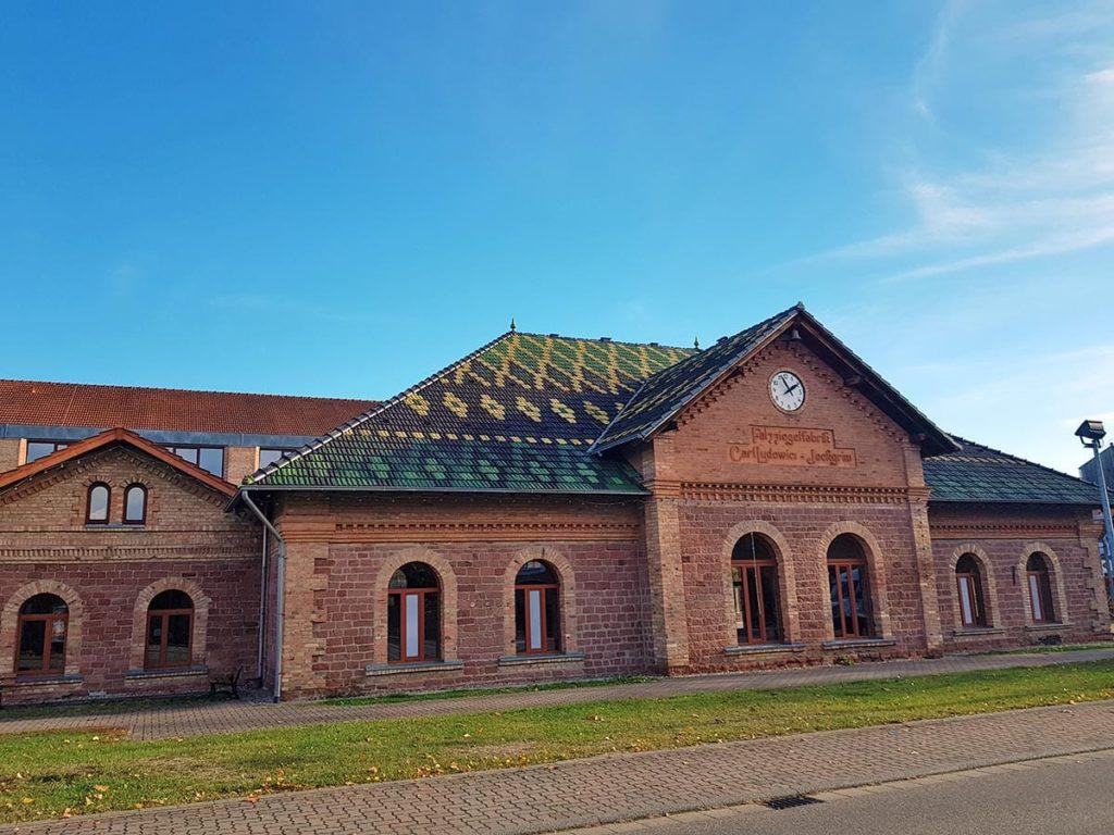 Das Ziegeleimuseum in Jockgrim in der Pfalz
