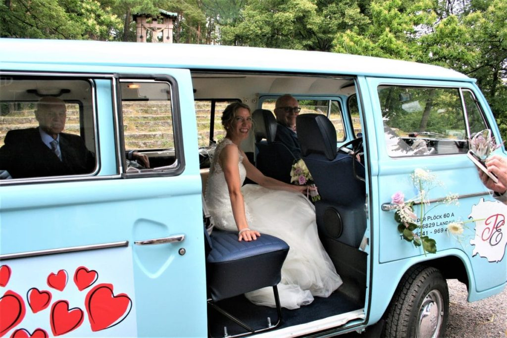 Der Brautbus - VW Bulli