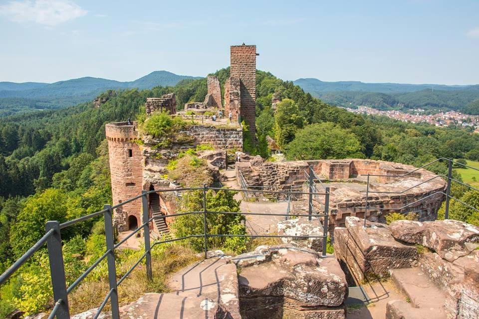 Burgruine Altdahn in der Südwestpfalz, Foto: Andreas Ott