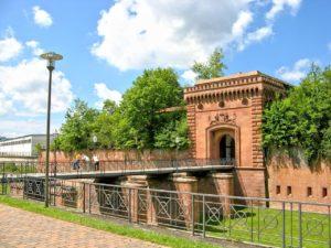 Weißenburger Tor in Germersheim in der Pfalz