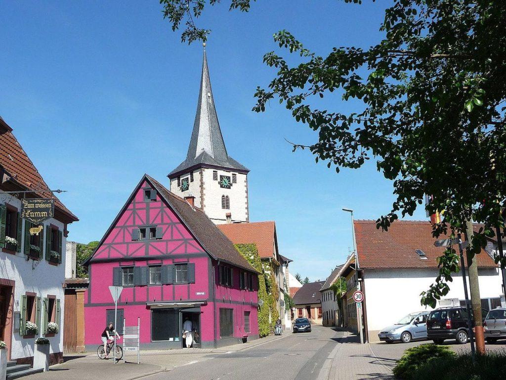 Laumersheim in der Pfalz
