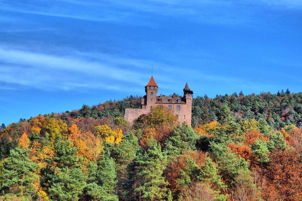 Burg Berwartstein in Erlenbach bei Dahn